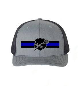 ReLEntless Defender Rose and Shield Snapback Hat